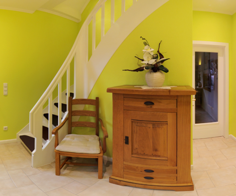 Flurbereich und Treppenhaus