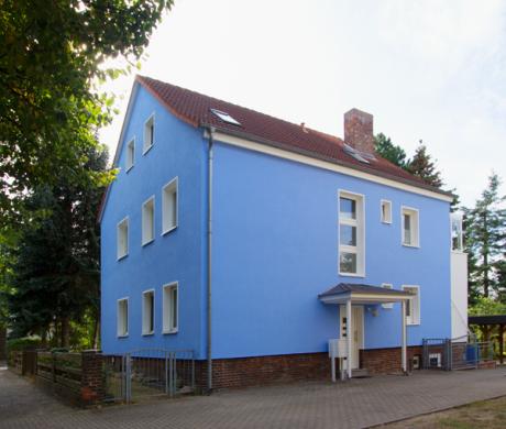 Außenfassade Mehrfamilienhaus